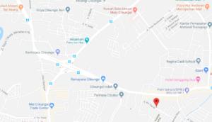 peta perumahan lama Cileungsi