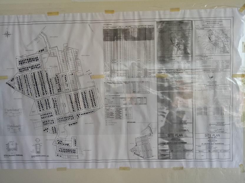 Pembangunan perumahan Puri Asri 2 Cileungsi